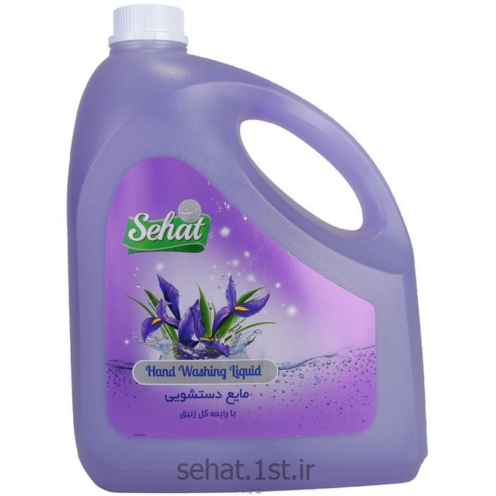 مایع دستشویی صحت با رایحه گل زنبق (4000 گرم)