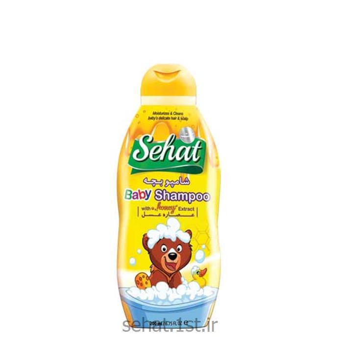 شامپو بچه حاوی عصاره عسل صحت