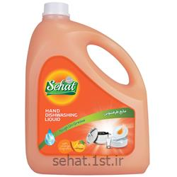 عکس مواد شوینده و پاک کنندهمایع ظرفشویی معمولی  صحت با رایحه پرتقال (4000 گرم)