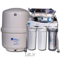 عکس تصفیه آبدستگاه تصفیه آب خانگی پنج مرحله ای با پایه