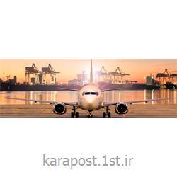 عکس هواپیماپست سریع بین المللی مدارک از کشور امارات