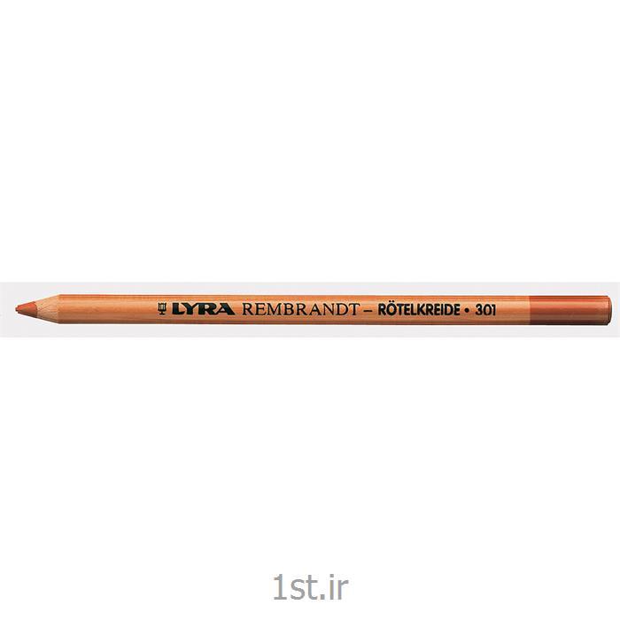 عکس سایر مدادهامداد گچی فاقد روغن لیرا (قرمز مایل به قهوه ای)