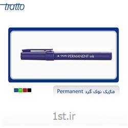 عکس قلم مارکرماژیک نوک گرد Permanent ink
