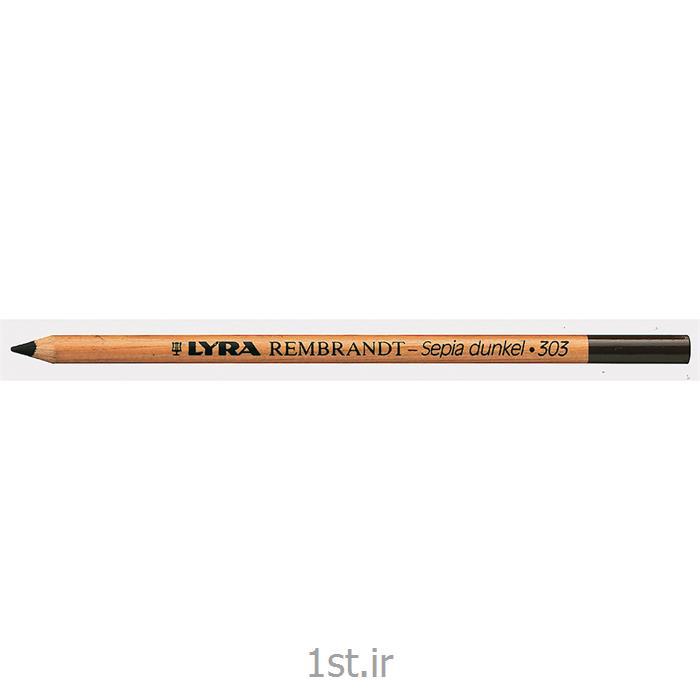 عکس سایر مدادهامداد سپیا ،بدون روغن لیرا (قهوه ای تیره)