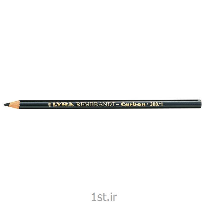 عکس سایر مدادهامداد مشکی کربنی لیرا Lyra Carbon Pencil
