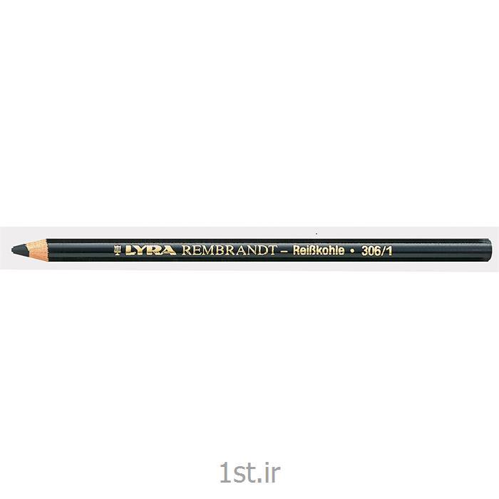 مداد مشکی ذغالی لیرا