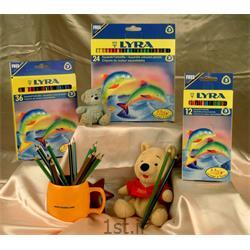 عکس مداد رنگیمداد آبرنگی (َAquarell) جعبه مقوایی LYRA