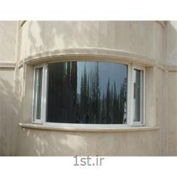 پنجره یو پی وی سی (upvc) دو جداره ثابت قوس دار یا آرکی