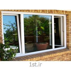 پنجره یو پی وی سی (upvc) دو جداره دو حالته