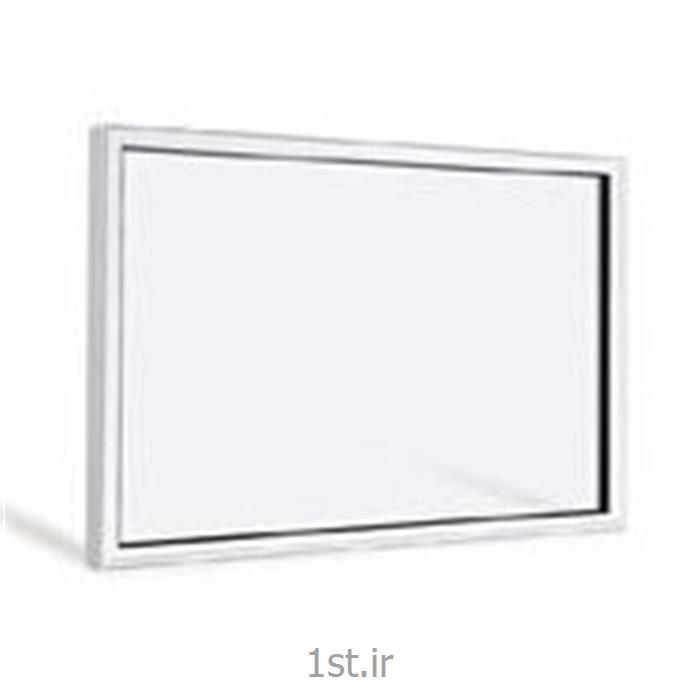 عکس پنجرهپنجره یو پی وی سی (upvc) دو جداره ثابت تک لنگه