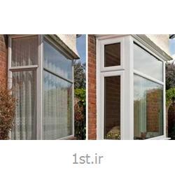 پنجره یو پی وی سی (upvc) دو جداره ثابت تک لنگه