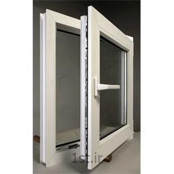 پنجره یو پی وی سی (upvc) دو جداره تک حالته