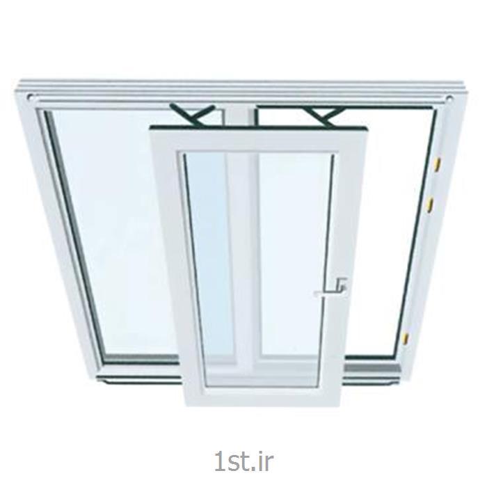عکس پنجرهپنجره یو پی وی سی (upvc) دو جداره فولکس واگنی