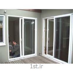 پنجره یو پی وی سی (upvc) دو جداره فولکس واگنی