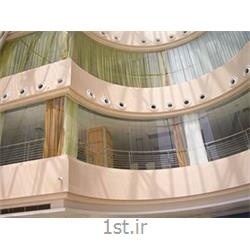 پنجره یو پی وی سی (upvc) دو جداره کمانی