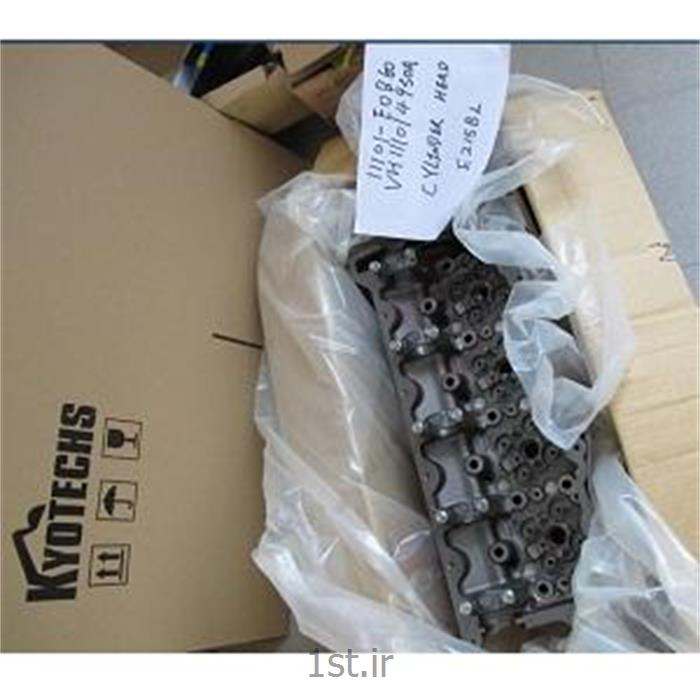سرسیلندر موتور هینو دستگاه کوبلکو    -     KOBELCO E215BL PART VH111014950A HINO PART 11101-E0B60