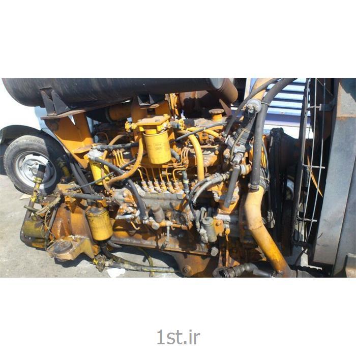 عکس اجزا مکانیکی عمومی دست دومست کامل موتور و گیربکس لودرکوماتسو w90 اصل کوماتسو ژاپن