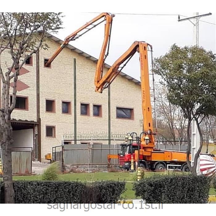 پمپ بتن دکل 41 متری جک ایکس سرماک