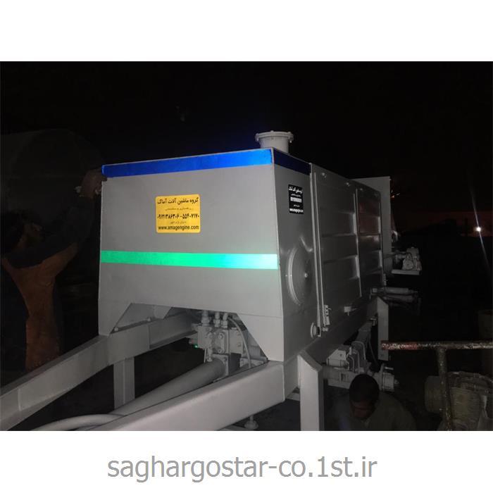 پمپ بتن زمینی شویینگ موتور خورجینی برای پمپاژ تا 15 سقف