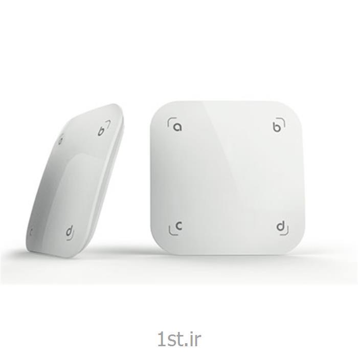 عکس تجهیزات ساختمانی هوشمند (خانه هوشمند)کلید لمسی هوشمند 4 کاناله سناریو پذیر با تکنولوژی فیدبک feedback
