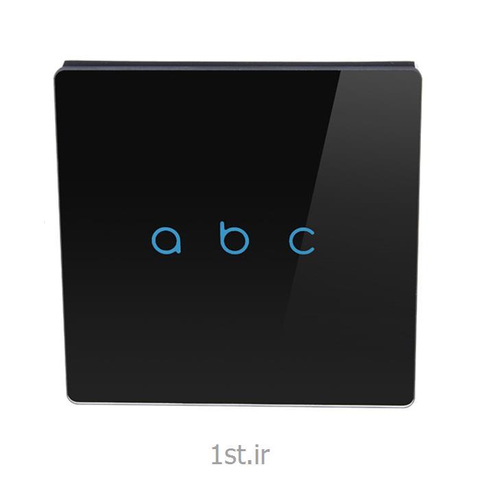 عکس تجهیزات ساختمانی هوشمند (خانه هوشمند)کلید کنترلی لمسی سه پل ترموستات دار هوشمند Smart Touch Switch
