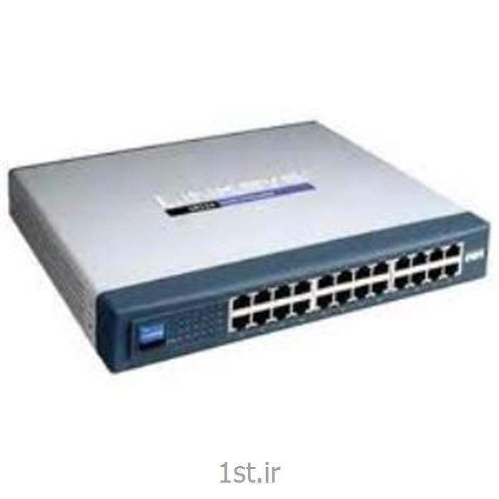 عکس سوئیچ شبکهسوئیچ شبکه cisco مدل SR224