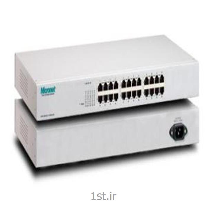 عکس سوئیچ شبکهسوئیچ شبکه Micronet مدل SP624R