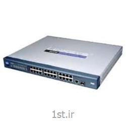 عکس سوئیچ شبکهسوئیچ شبکه ciscoمدل SR224G