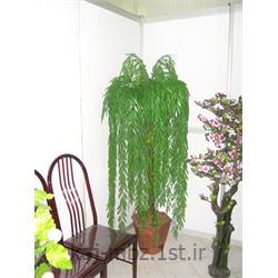 عکس گل و گیاه مصنوعیدرختچه بیدمجنون مصنوعی سبز (bid majnon)