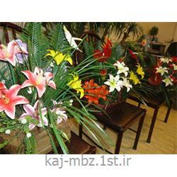 عکس گل و گیاه مصنوعیگل مصنوعی سفارشی گلسازی کاج