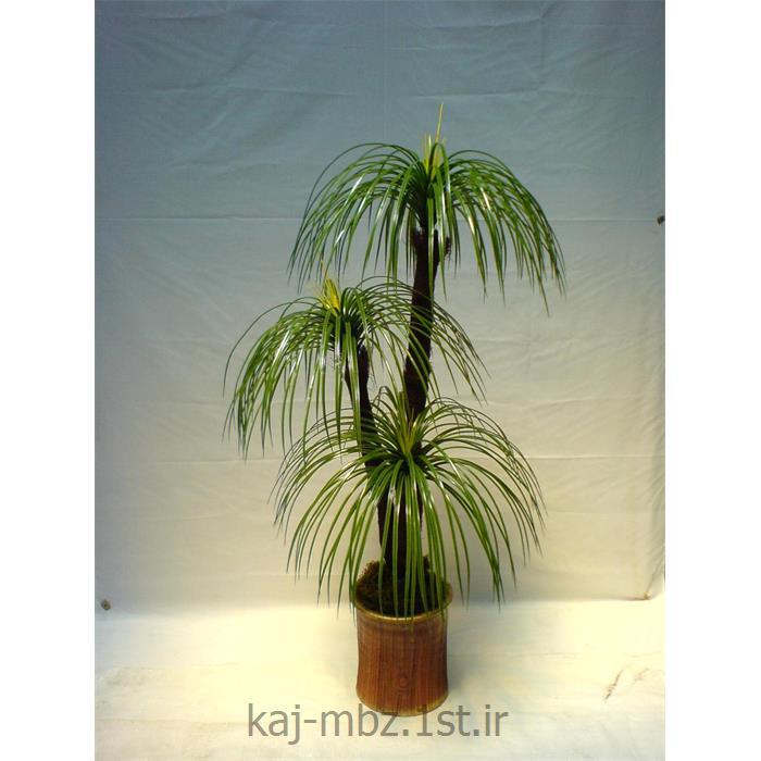 عکس گل و گیاه مصنوعیدرختچه نخل مرداب 3 شاخه (palm)