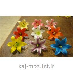 عکس گل و گیاه مصنوعیگل تزئینی لیلیوم مصنوعی