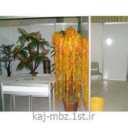 عکس گل و گیاه مصنوعیدرختچه مصنوعی بیدمجنون پاییزی (bid majnon)