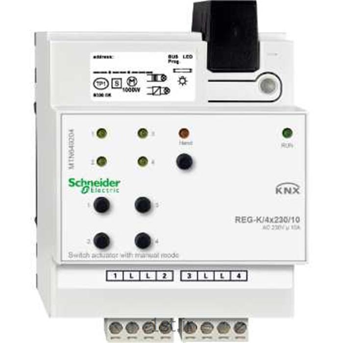 عکس سایر محصولات کنترلیفعال ساز سوییچ 4 رله ای مدل MTN649204