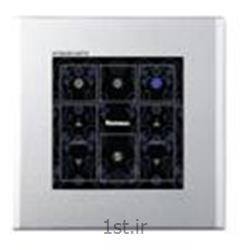 عکس کلید و پریز برقکلید شش پل خاموش و روشن NV-5016, AL-5016
