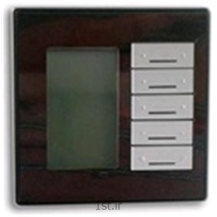 عکس تجهیزات ساختمانی هوشمند (خانه هوشمند)کلید 16 پل با ترموستات G4