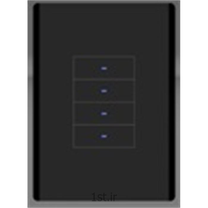 عکس تجهیزات ساختمانی هوشمند (خانه هوشمند)کلید 8 پل هوشمند سیستم TIS