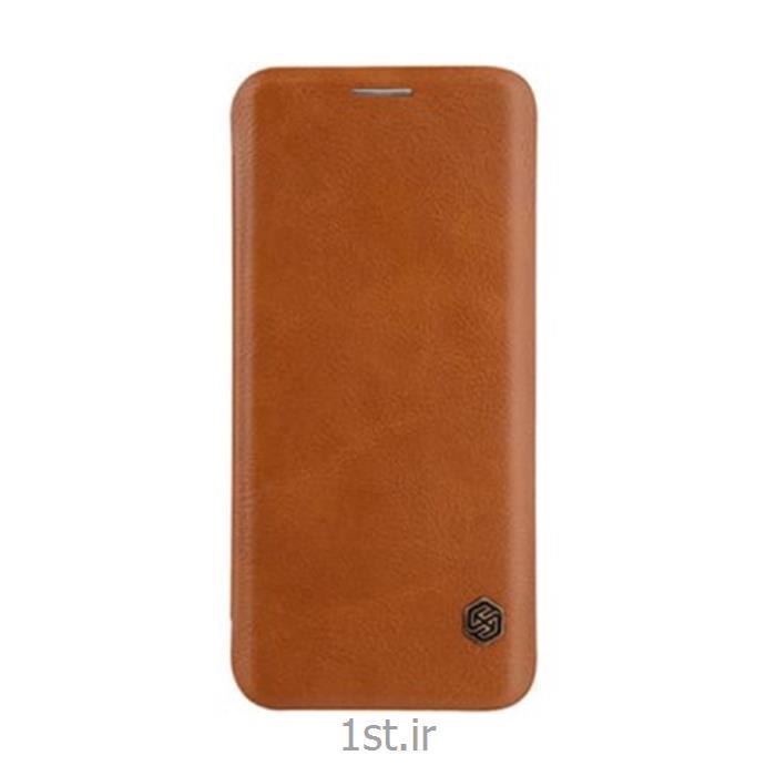 کیف کلاسوری چرمی QIN مناسب برای گوشی سامسونگ S9Plus