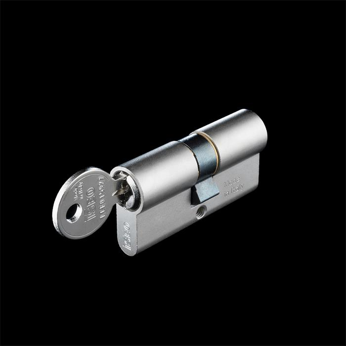 قفل سیلندر مکانیکی (7 سانتی به رنگ کروم)