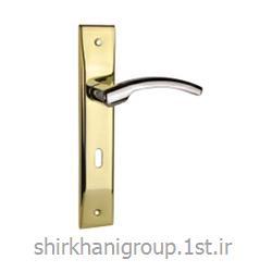 دستگیره پلاک آلومینیمی A2000 مناسب جهت در چوبی و آلومینیمی
