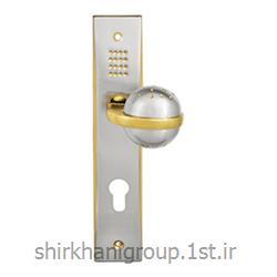 دستگیره پلاک آلومینیمی B24 مناسب جهت در چوبی و آلومینیمی
