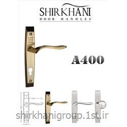 دستگیره پلاک آلومینیمی A400 مناسب جهت در چوبی و آلومینیمی