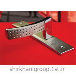 دستگیره پلاک آلومینیمی B17 مناسب جهت در چوبی و آلومینیمی