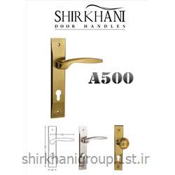 دستگیره پلاک آلومینیمی A500 مناسب جهت در چوبی و آلومینیمی