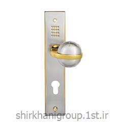 دستگیره پلاک آلومینیمی B5 مناسب جهت در چوبی و آلومینیمی