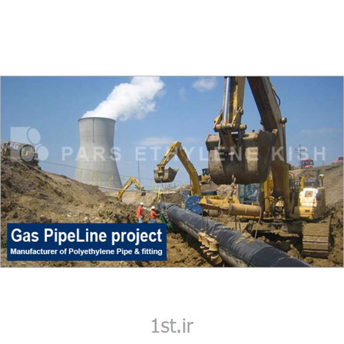 عکس لوله های پلاستیکیلوله پلی اتیلن گاز رسانی Gas HDPE Pipe