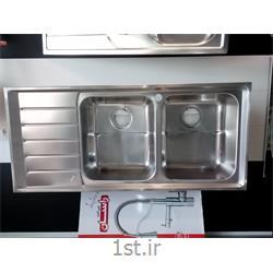 عکس سینک آشپزخانهسینک استیل البرز مدل 735