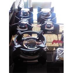 اجاق گاز رومیزی استیل البرز با صفحه شیشه ای مشکی 5 شعله مدل G5907