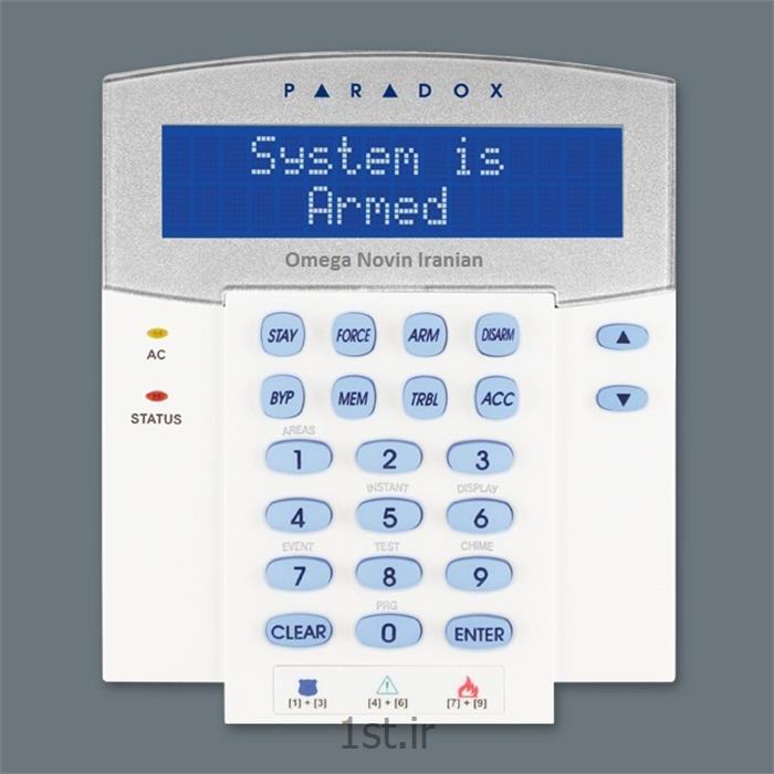 صفحه کلید دزدگیر پارادوکس مدل K641