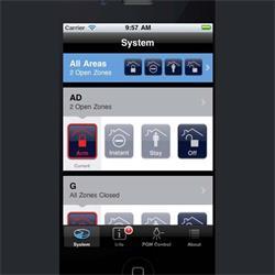 سیستم کنترل بر روی موبایل پارادوکس iParadox